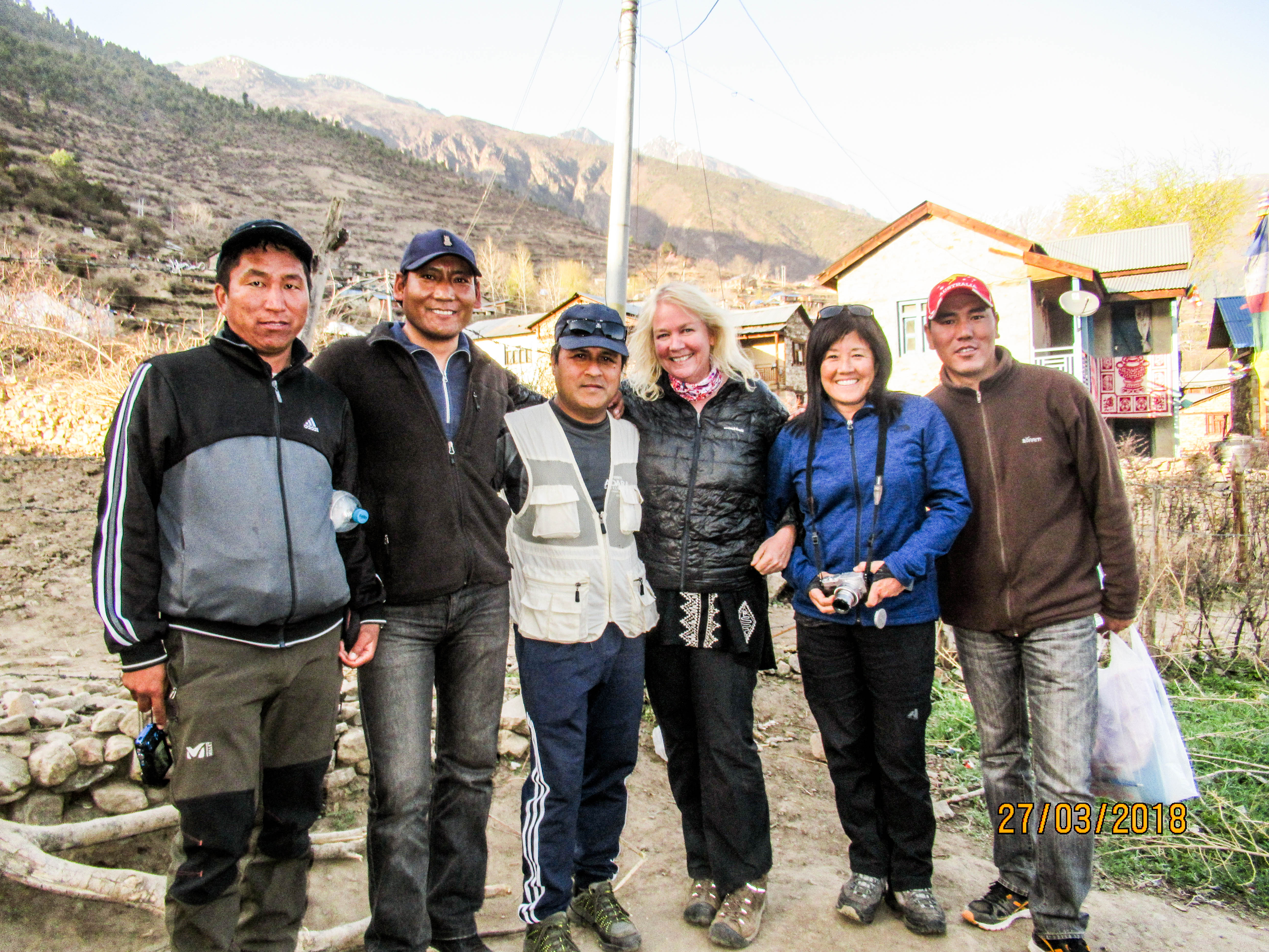 Group photos with the team of Adara Development Nepal in HEAD Nepal