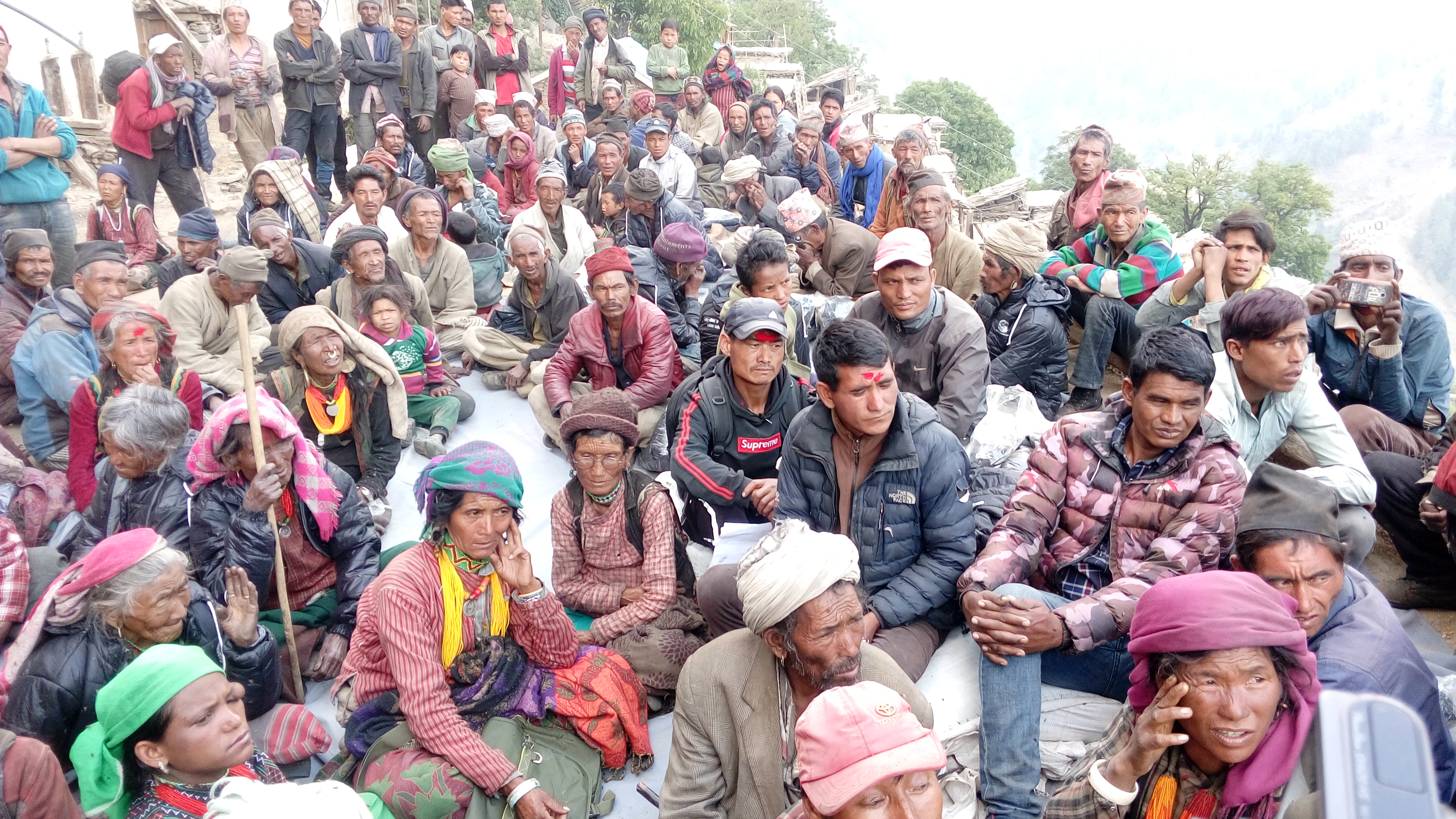 Participant of Kachari in Sarkegad 8 Rahdev organized by HEAD Nepal