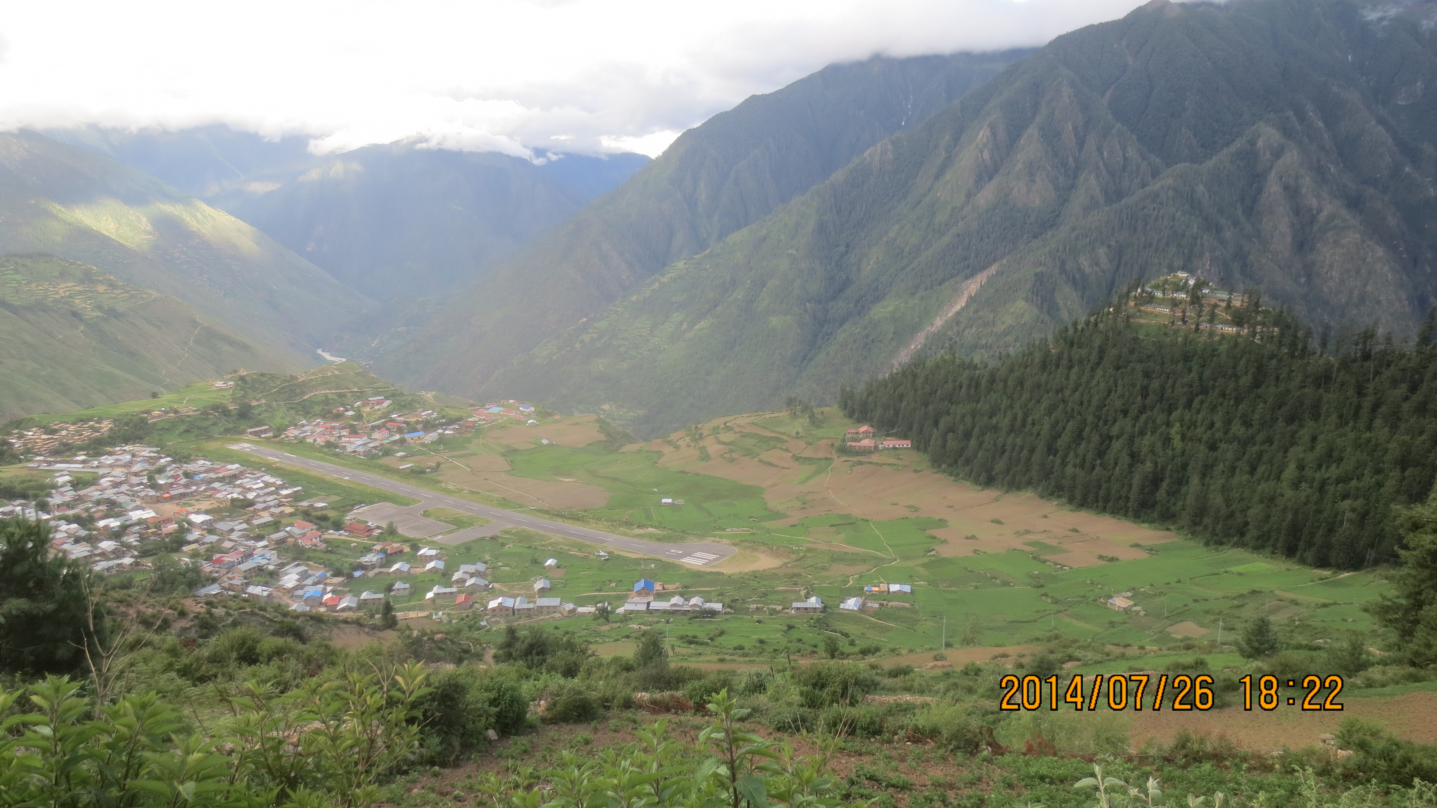 picture of heart of Humla Simikot